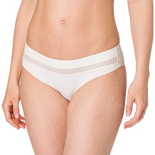 Calvin Klein Bikini Ropa Interior, Marfil, M para Mujer
