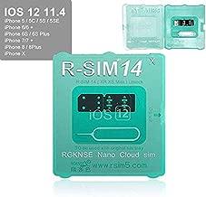 Meetinglea R-SIM14 V18 SIM Nano Unlock Card Case Holder Fully Automatic Unlock with ICCD Unlock Program for iPhone Xs MAX/XR/X/6/7/8/Plus