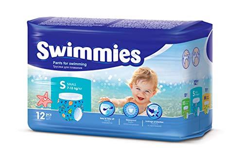 Swimmies tg S 7-13 Kg Pannolini per Piscina