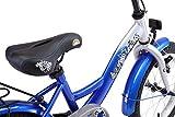 BIKESTAR Kinderfahrrad für Mädchen und Jungen ab 4-5 Jahre   16 Zoll Kinderrad Classic   Fahrrad für Kinder Silber & Blau   Risikofrei Testen - 8