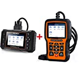FOXWELL NT510 Elite Diagnostic Scan Tool All Function Scanner for Buick/Chevrolet/Cadillac/GMC with Foxwell NT624 Elite Car Scanner
