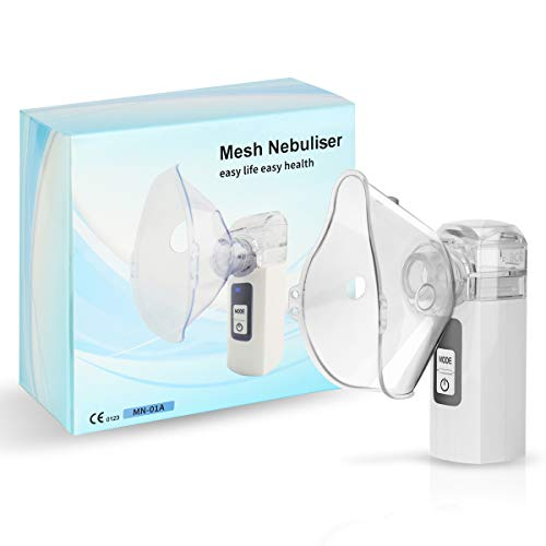 MGLIFMLY Mini Handheld Cool Mist Steam Inhaler, Portable Steam Sprayer for Travel or Home Daily Use,...