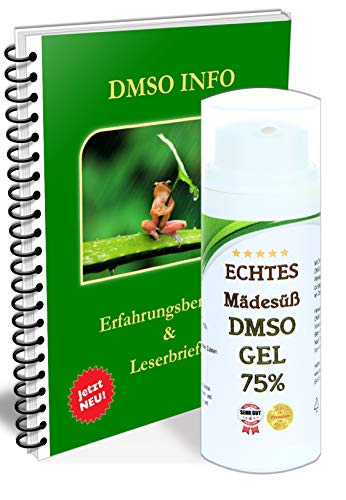 Leivys DMSO Gel - Salbe + Mädesüß Auszug mit Dimethysulfoxid 99,9%, mit Handbuch Anwendung Wirkung 2x50ml