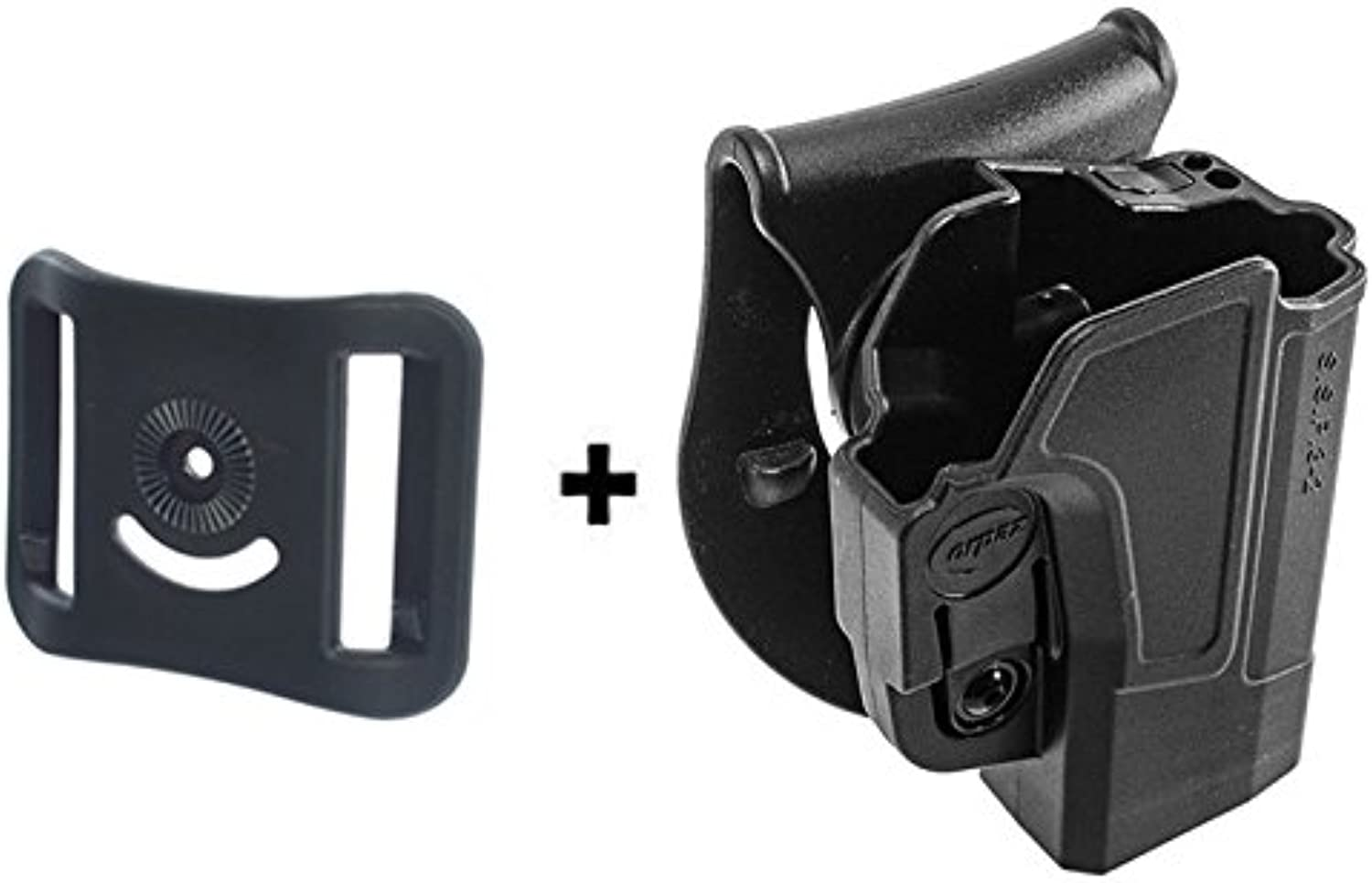 Orpaz Active Retention ajustment redO redation Tactical Paddle Holster + Belt Loop Attachment for Sig Sauer p320 P250 Full Size and Compact