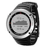 North Edge uomini orologio da polso GPS Running connectee impermeabile sport, Digital Watch ore Running Nuoto Sport impermeabile orologio al Chip Altimetro Barometro Bussola Termometro Meteo