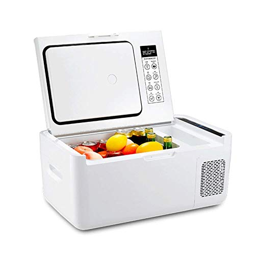 LKOER Refrigerador portátil, Nevera compacta, refrigerador de automóviles, Mini Nevera - Mini Nevera, refrigerador eléctrico, más cálido - AC/DC Portab jinyang