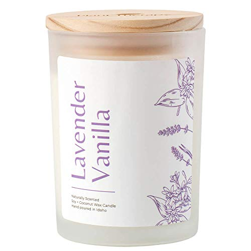 Plant Therapy Lavender Vanilla Aromatherapy Candle - Vegan Soy &...
