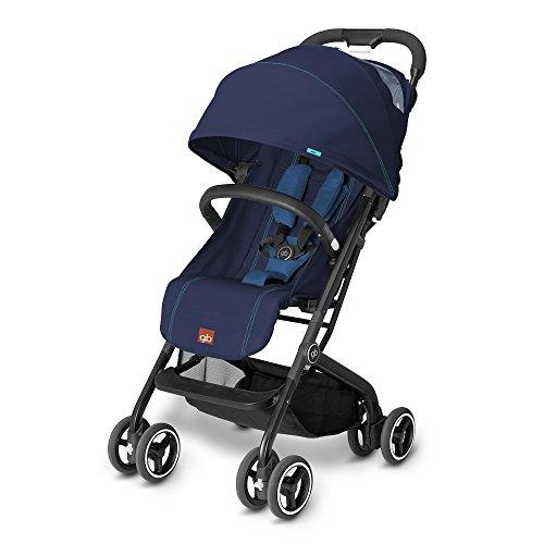 Gb Qbit - Silla de paseo (0-17 kg, 6 meses-4 años), color Sea Port Blue [Colección 2016]