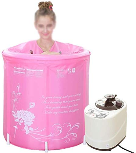 Familie mobile Sauna, leicht zu transportieren und zu speichern Dampf-Sauna Spa Full Body Abnehmen Verlust Weight Detox-Therapie Sauna Raumduft Medizin Begasung Box Dampf aus für eine gute Gesundheit