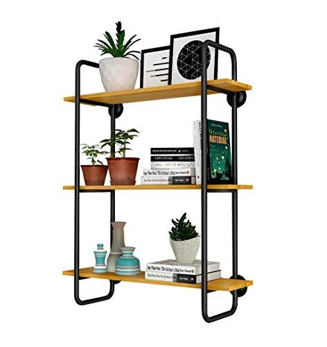 HUIYUAN Wandmontage Plank Decoratie Multifunctionele IJzeren Beugel En Hout Opslag Rack Keuken Woonkamer Thuis