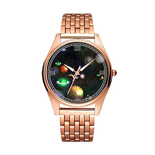 Minimalistische Goldene Fashion Quarz-Armbanduhr Elite Ultra Dünn Wasserdichte Sportuhr künstlerisches Muster 262.Nahtlos, Fliesen, Hintergrund, abstrakt