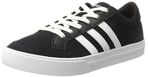 adidas Vs Set, Sneaker a Collo Basso Uomo, Nero (Core Black/ftwr White/ftwr White), 36 EU