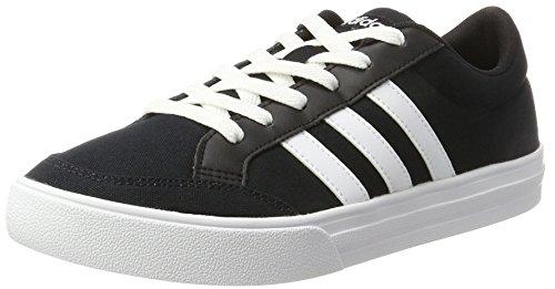 adidas Vs Set Zapatillas de Deporte Hombre, Negro (Core Black/ftwr White/ftwr White), 40 2/3 EU