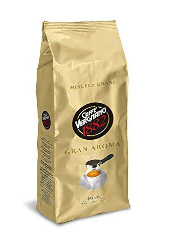 8 x CAFFE VERGNANO GRAN AROMA Kaffee ganze Bohnen 1000g