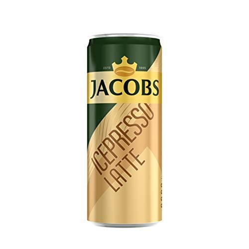 Jacobs Eiskaffee Latte Dose, Icepresso, 12er Pack (12 x 250 ml)