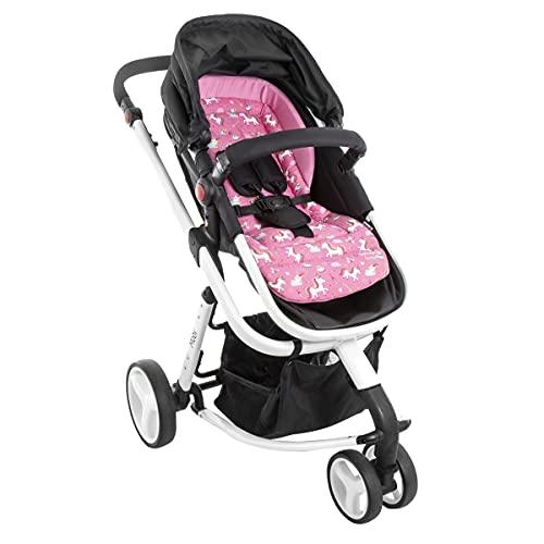Almofada Extra para Carrinhos SafeComfort, Safety 1st, Pink Unicorn
