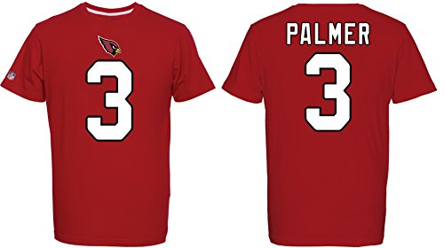 Majestic NFL Arizona Cardinals Carson Palmer Name Number Shirt Jersey Trikot (X-Large)