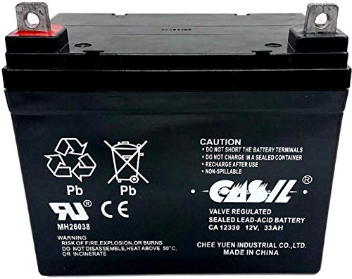 Lawn Tractor Mower Battery 12v 33ah by...