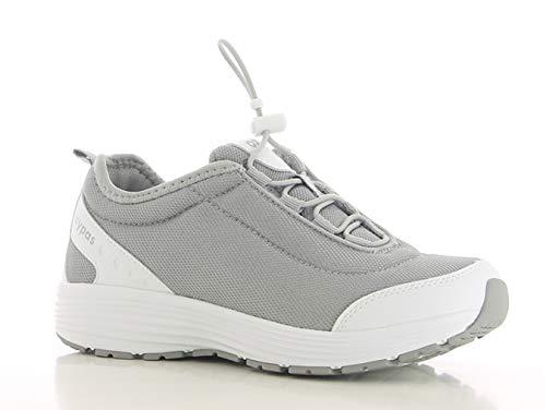 Oxypas Maud SRA Damen Arbeits- und Sicherheitsschuhe | Sneaker, Farbe: Grau, Größe: 41