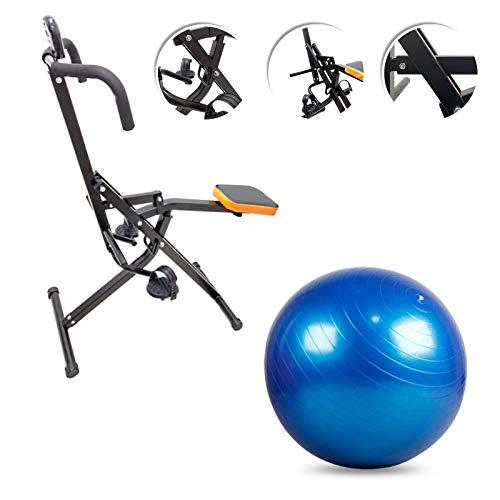 FLTBC30B Total Power PRO Body Pump Crunch Home Fitness + Swisse Ball Palla Svizzera Addominali Pettorali Braccia Gambe Muscoli Tonificazione Gym