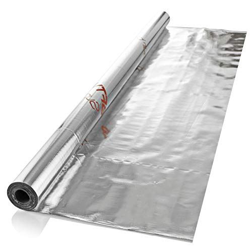 SuperFOIL Waterproof Foil Membrane SFTV (1.5m x 25m) - 37.5sqm Coverage | Thermal Foil Insulation for Walls, Roofs, Floors, Lofts | 100% Waterproof - Prevent Mould & Damp in Your Home