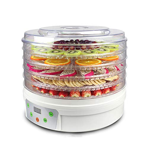 Read About LYX 250W five-layer dryer, dried fruit machine food dehydrator vegetable air dryer home p...