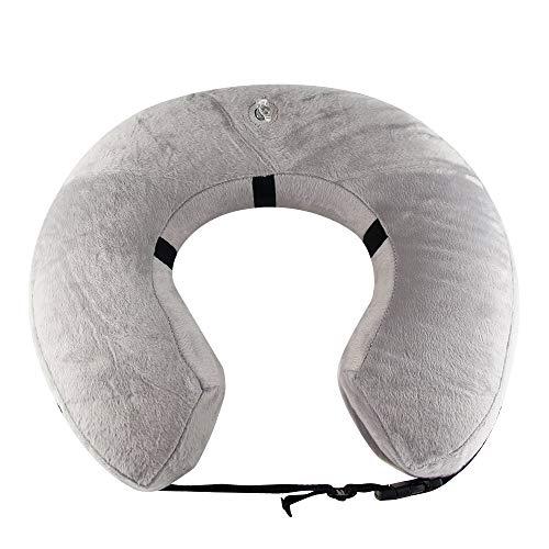 aufblasbar Halsband für Haustier Hund Katze bequem weich Recovery Schwimmen Schutz-mit Magic Reißverschluss für Haustier Hund Nackenschutz