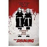 w15y8 The Shining - Twins Movie Poster Dekorativer