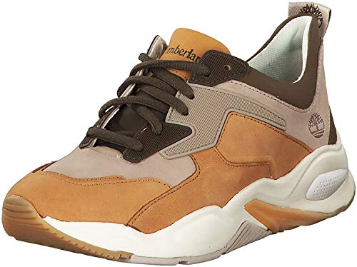 Timberland Damen Delphiville Sneaker, Beige (Medium Beige 255), 39 EU