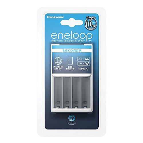 Panasonic Eneloop SY3056676 - Cargador BQ-CC51, sin baterías