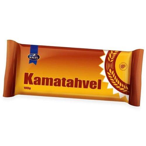 Kama Schokoladenriegel (Spezial Estonisch National Süßigkeiten) aus Kalev [4er packung]