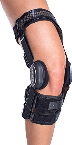 DonJoy FullForce Knee Support Brace: Short Calf Length, ACL (Anterior Cruciate Ligament), Left Leg,...