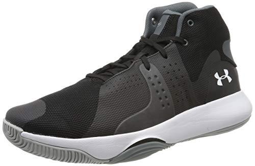 Under Armour UA Anomaly, Zapatos de Baloncesto para Hombre, Negro (Black 004), 41 EU