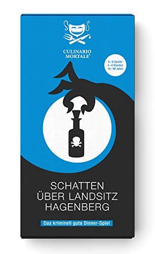 CULINARIO MORTALE - Schatten über Landsitz Hagenberg - Das Krimi-Dinner-Spiel für Zuhause