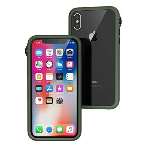 Catalyst Hülle, Aufprallschutz, Stoßfest für iPhone X (Kompatibel mit iPhone XS), Handy-Schutzhülle, Premium-Qualität, (Armee Grün)