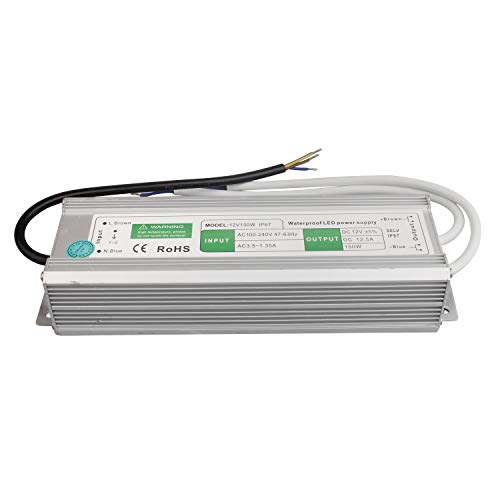 LED Transformator 150W/12.5A Trafo. Netzteil Adapter Driver für Stripe 230V auf DC 12V