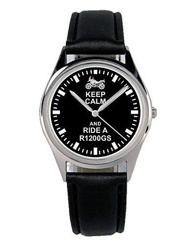 Geschenk für R1200GS Motorrad Biker Fans Fahrer Kiesenberg Uhr B-1842