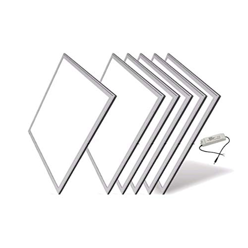 Panneau LED 60x60 60W BLANC (Pack de 6) - Blanc Froid 6000K - 8000K - SILAMP