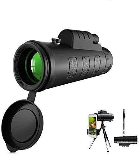 40x60 ED Monocular de vidrio Ultra HD Multicapa resistente al agua BAK4 Prisma para la vida silvestre Observacin de aves Caza Camping Viajes Paisaje de vida silvestre, Telescopio monocular estelar -