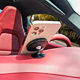 PZOZ Magnetic Car Mount Compatible with iPhone 13 /12 & MagSafe Case, 360° Adjustable Magnet Cell Phone Mount Holder for Dashboard Compatible with Mag Safe iPhone 13 /12, Mini, Pro, Pro Max (Black)