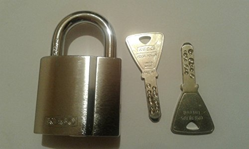 KESO(Assa Abloy) 22.042. Vorhängeschloss/ Keying Platform 2000S /2 Schlüssel/ Sicherungskarte