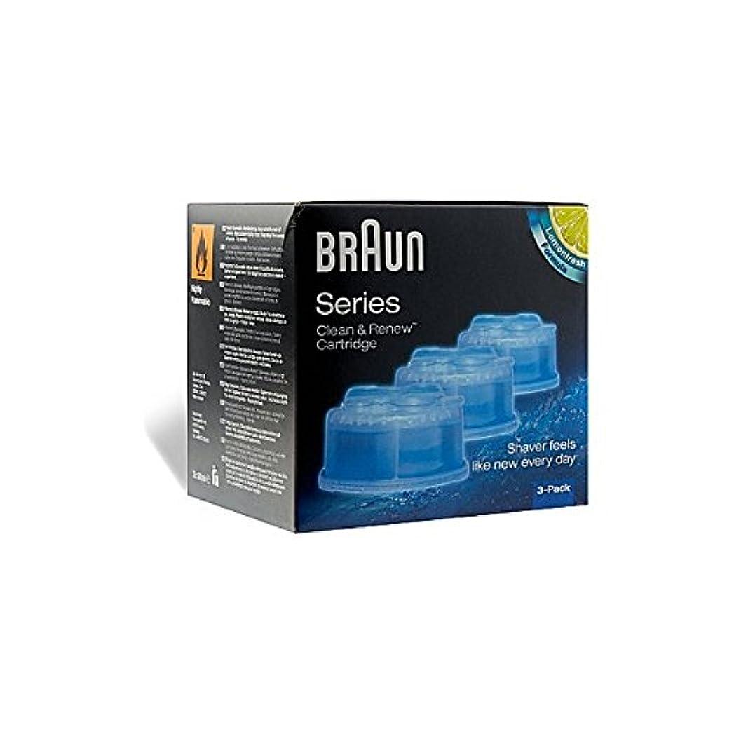 おっと傾向がある惑星Braun Clean & Renew Cartridge (Pack of 6) - クリーン&更新カートリッジ x6 [並行輸入品]