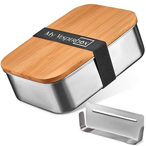 My Vesperbox Roestvrij stalen broodtrommel, lunchbox, extreem robuust, lunchbox, broodtrommel ideaal voor kleuterschool…