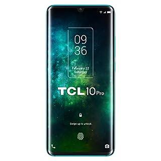 "TCL 10 Pro – Smartphone de 6.47"" FHD+, con NXTVISION, Procesador Pantalla, Octacore, 6GB Ram, Memoria 128GB, Ampliable MicroSD, 4 Cámaras 64MP+16MP+5MP+2MP, Frontal 24MP, 4500 mAh de Batería, Verde (B086Q957G5) | Amazon price tracker / tracking, Amazon price history charts, Amazon price watches, Amazon price drop alerts"