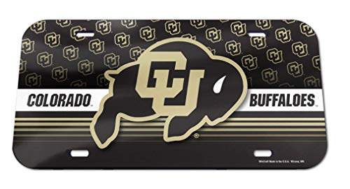 Wincraft NCAA University of Colorado License Plate