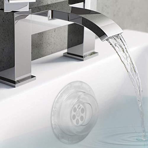 Maison & White Überlaufablassdeckel | Sicherer tiefer Badestecker | Für ein komfortableres Badeerlebnis | Universal Design für alle Bäder