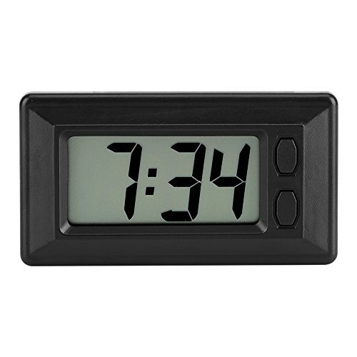 GLOGLOW LCD Armaturenbrett Elektronische Uhr Datum Kalender Anzeige
