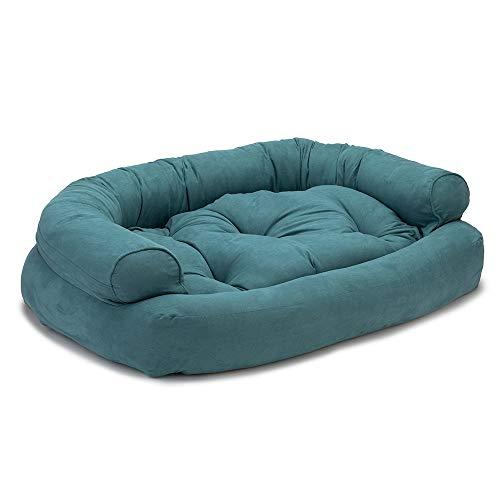 Snoozer Luxury Overstuffed Microsuede Pet Sofa Review