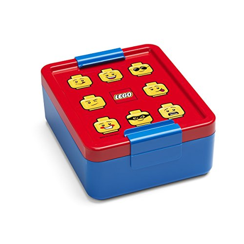 Room Copenhagen Lego – Fiambrera Iconic, Klassisch, Azul/R