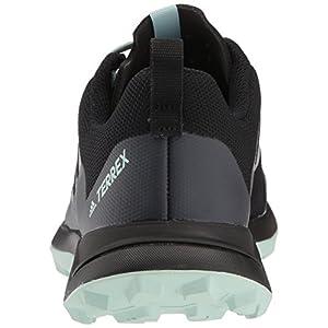 adidas outdoor Women's Terrex CMTK W Walking Shoe, Black/Chalk White/ash Green, 9 M US